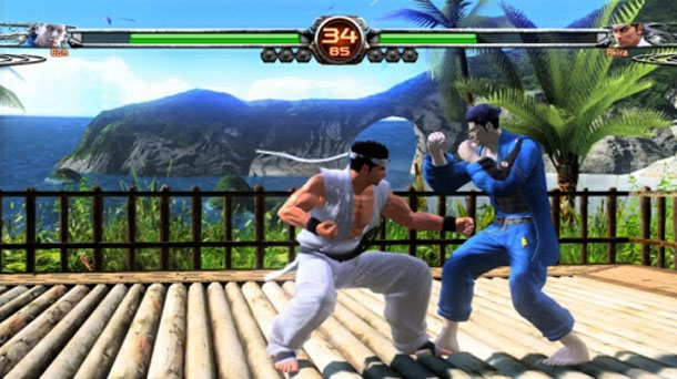 Virtua Fighter 5 Final Showdown screen