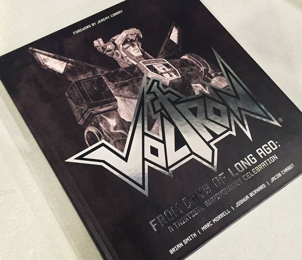 Voltron: From Days of Long Ago – A Thirtieth Anniversary Celebration book review