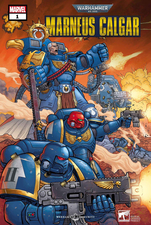 Marvel creating a Warhammer comic series