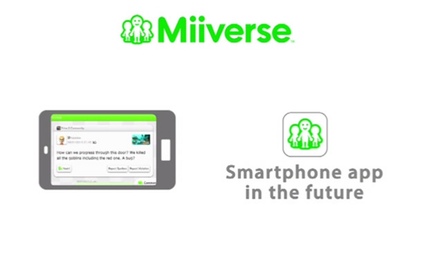 Miiverse is (finally) coming to phones
