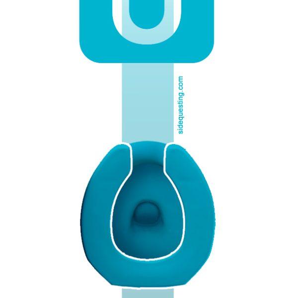 Wii U toilet seat