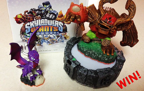 Win Skylanders Giants