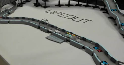 Wipeout game viral video
