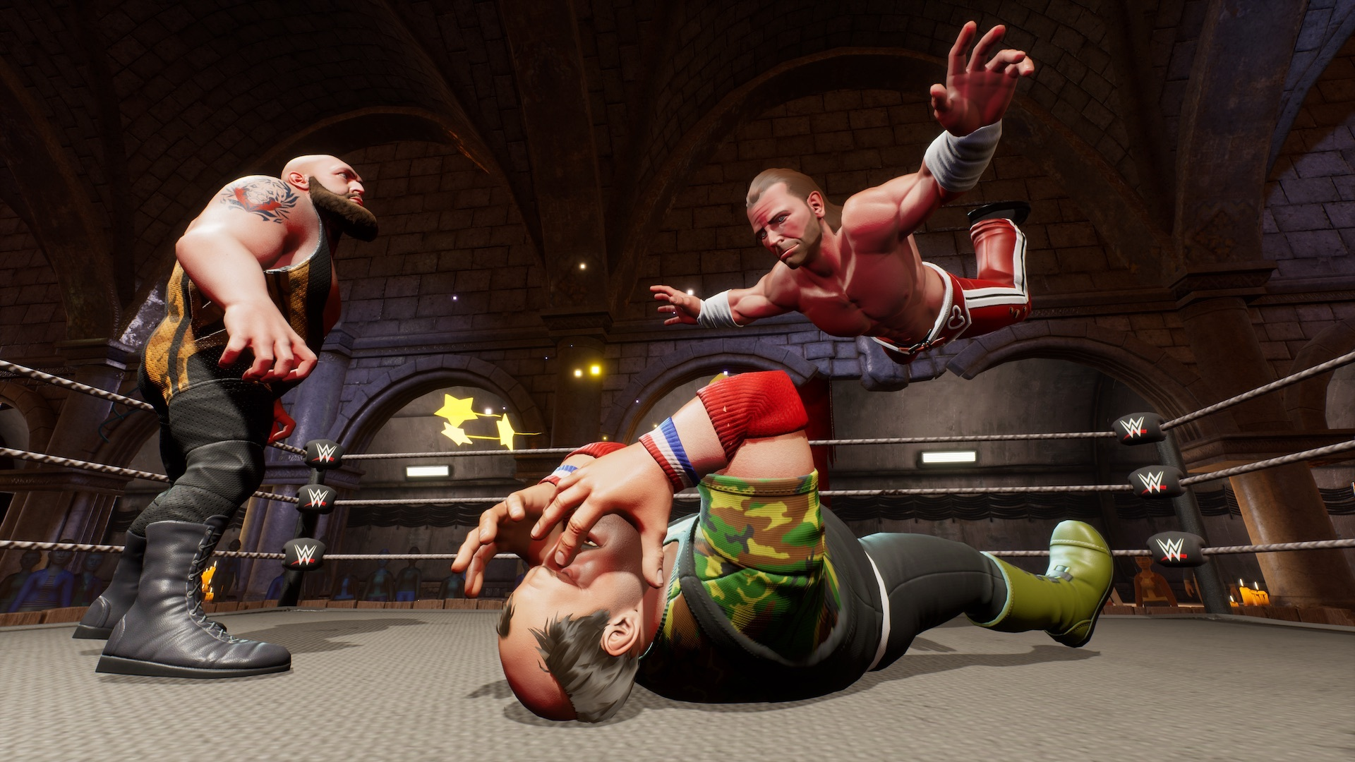 WWE 2K Battlegrounds hits the digital ring in September