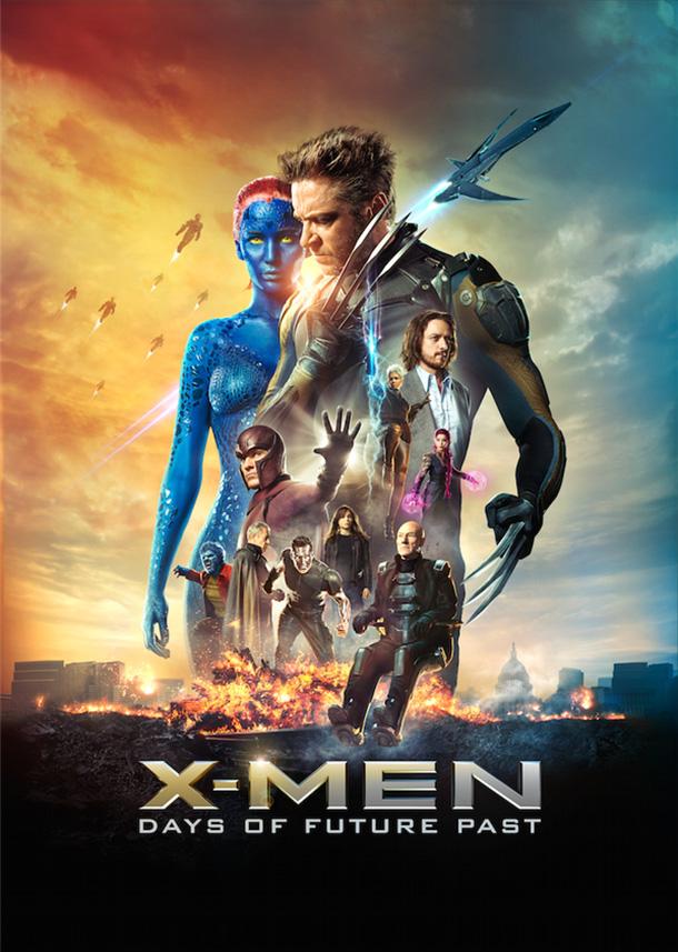 X-Men Days of Future Past movie poster