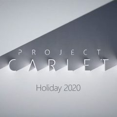 E3: Microsoft reveals Project Scarlett