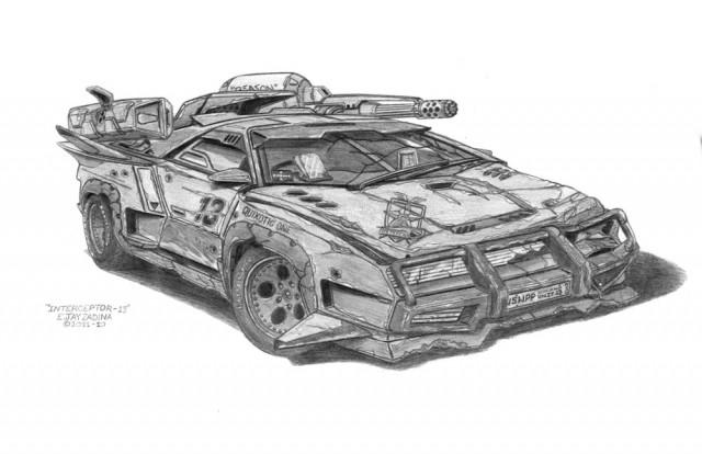 Dystopia Vehicle Mad Max Zadina