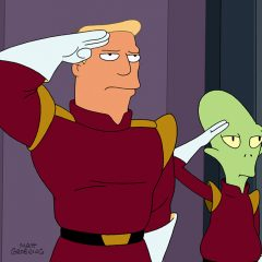Futurama's Zapp Brannigan returns to quote Donald Trump