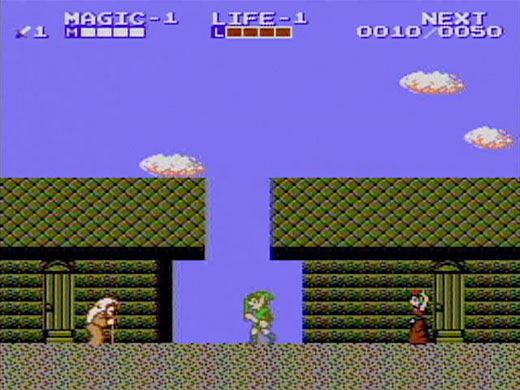 Review Zelda Ii The Adventure Of Link Nes Gameboy Advance