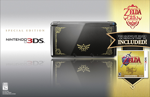 Legend of Zelda 3DS bundle